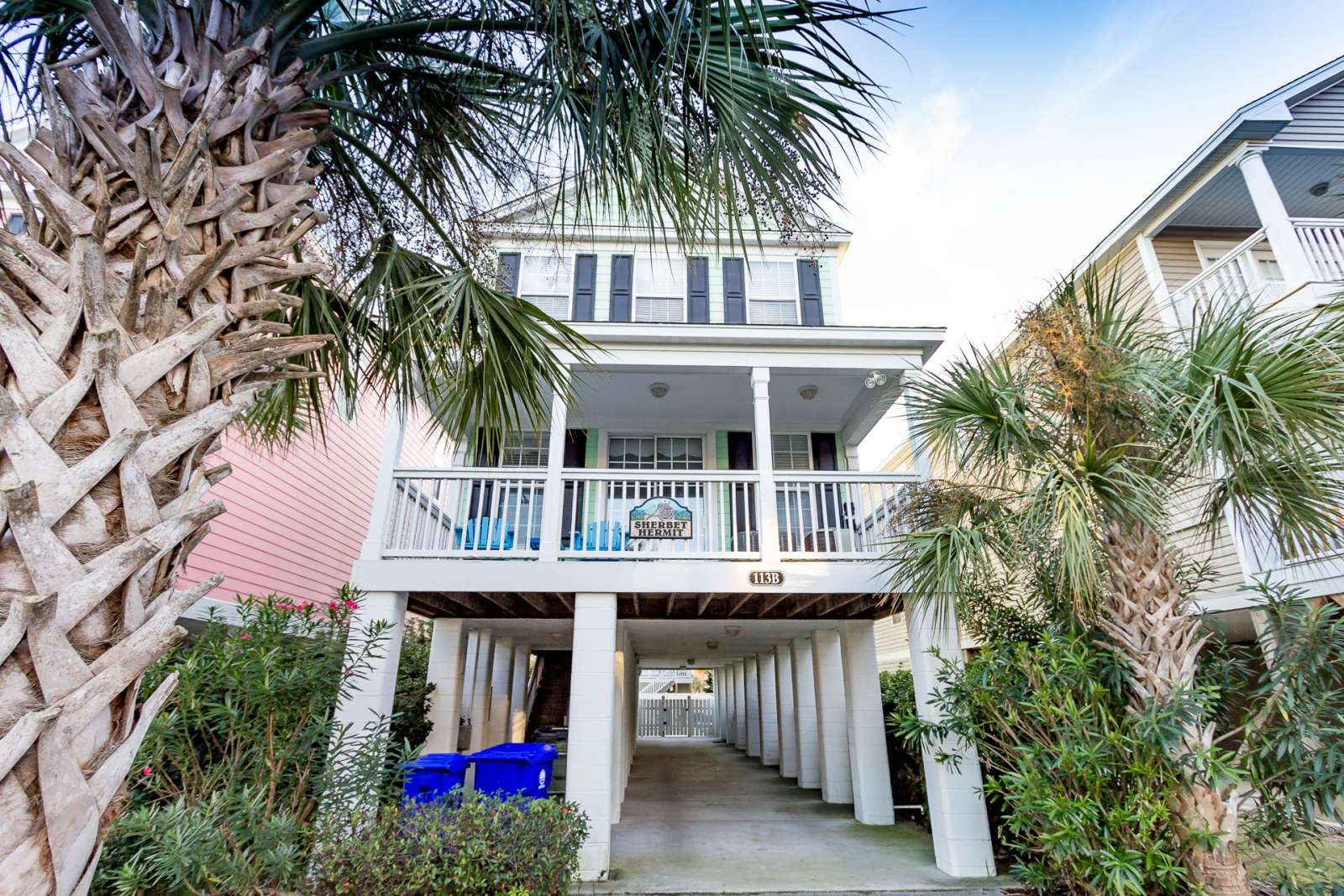 Surfside Beach Vacation Al Sherbet Hermit Large Luxury Home W Private Pool Just 75 Steps To Myrtle South On