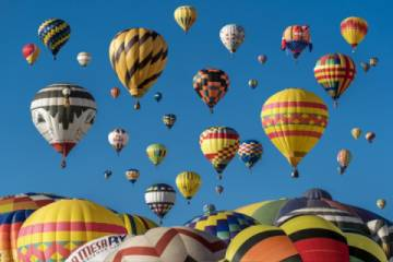 The Snowmass Balloon Festival is held every September and is an iconic fall event not to be missed. (Pic)