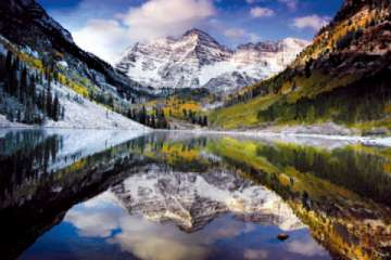 The Maroon Bells is a must visit during your vacation to Aspen Snowmass! (Pic)