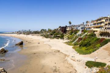 Enjoy a walk along Little Corona State Beach in the Corona del Mar neighborhood.  This will take you to some great tide pools to explore. (Pic)